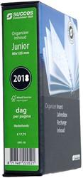 Agenda-inhoud 2018 Succes Junior 8x12,5cm 1 dag per pagina IJN1-18 (900079).