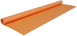 Kaftpapier 70 grams 3 meter x 70 cm in de kleur oranje.