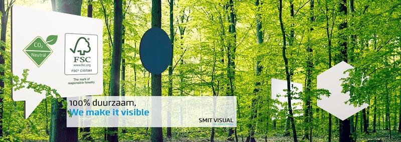 100% duurzaam, We make it visible Smit Visual