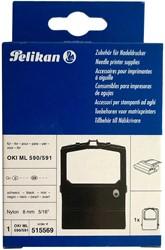 Inktlint Pelikan 9/422 nylon zwart (515569).