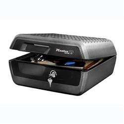 Documentenbox Master Lock LCFW30100 bescherming tegen brand en (blus) water uitw:193x419x136mm inw:136x321x232mm antraciet/zwart.