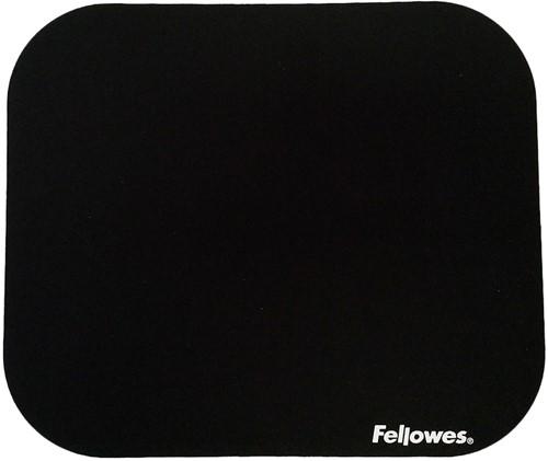 Muismat Fellowes standaard 233x200x3mm zwart.