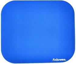 Muismat Fellowes standaard 233x200x3mm blauw.