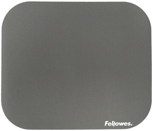 Muismat Fellowes standaard 233x200x3mm grijs.