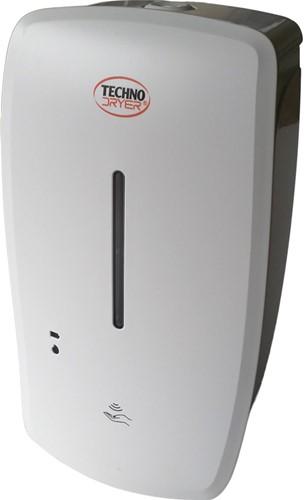 Muurdispenser Techno Dryer Touchless voor handgel.