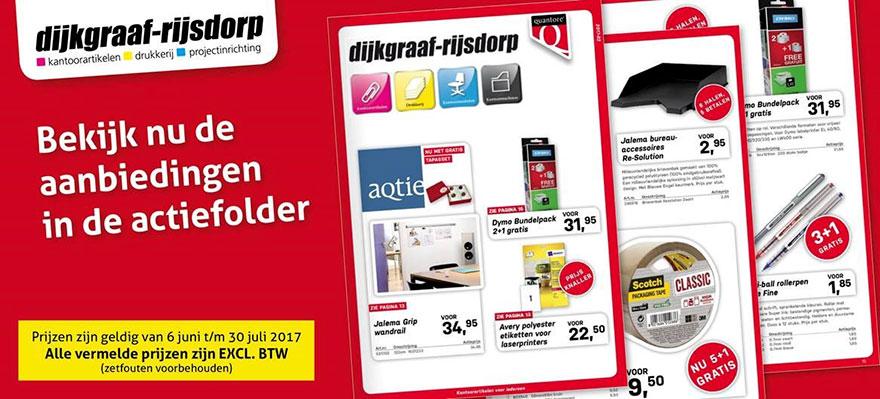 Actie Office Offers XXL op Dijkgraaf.nl