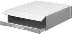 Stapelcassette Pas A6850-101 met 1 ordnermechaniek lichtgrijs. Afname per 6 stuks.