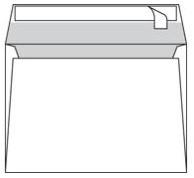 Envelop Conqueror 156x220mm gevergeerd 120 grams 250 stuks zelfklevend rechte klep zonder venster ivoorwit  katoenhoudend houtvrij ECF.