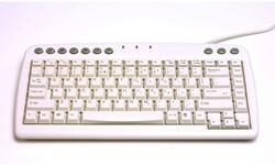 Toetsenbord Bakker-Elkhuizen Q-board Qwerty wit.