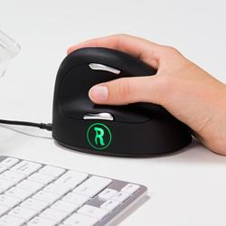 Muis R-go Break medium ergonomisch model rechtshandig.