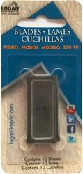 Reservemesjes t.b.v. dispenser Logan 2000 10 stuks.