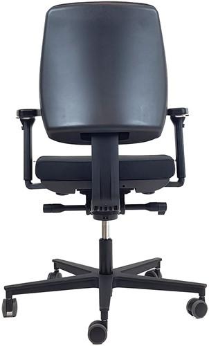 Bureaustoel 'De Dijkgraaf' Rovo in kleur zwart.-3