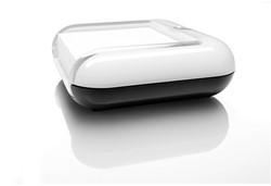 Memokubus Sigel Eye style kunststof wit incl. 200 vel zelfklevende memoblaadjes 76x76mm.