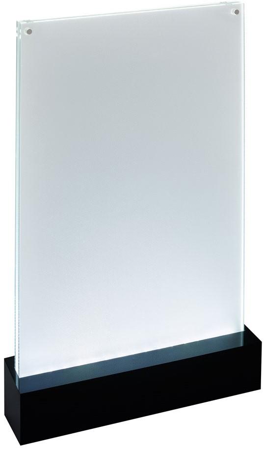 folderstandaard sigel ta420 a4 staand recht model met led verlichting