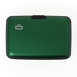 Pasjeshouder Ogon model Stockholm in de kleur Green cap. 12 kaarten.