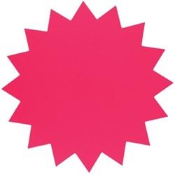 Sterkarton 18cm fluor roze 20 stuks.