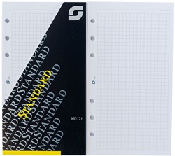 Notitiepapier Succes standard 95x171mm geruit wit 100 vel XT5.
