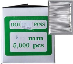 Textielpins 65mm nylon v-stand 5.000 stuks.