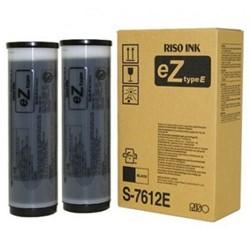 Toner Risograph S7612E zwart 2 stuks.