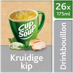 Unox Cup-a-Soup Drinkbouillon Sachets Kruidige Kip 26 x 175ml.
