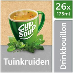Unox Cup-a-Soup Drinkbouillon Sachets Tuinkruiden 26 x 175ml.