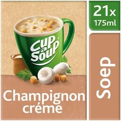 Unox Cup-a-Soup Sachets Champignon Crème  21  x 175 ml.