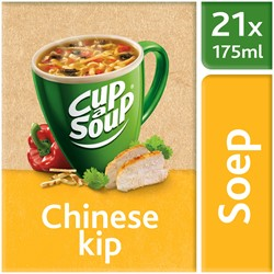Unox Cup-a-Soup Sachets Chinese kip 21  x 175 ml.