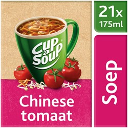 Unox Cup-a-Soup Sachets Chinese tomaat 21  x 175 ml.