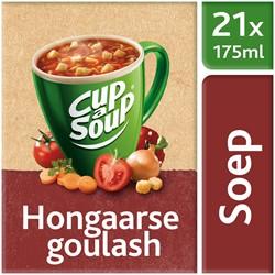 Unox Cup-a-Soup Sachets Hongaarse Goulash 21  x 175 ml.