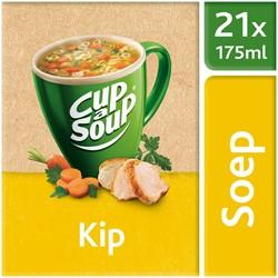 Unox Cup-a-Soup Sachets Kip 21  x 175 ml.