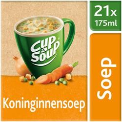 Unox Cup-a-Soup Sachets Koninginnensoep 21  x 175 ml.