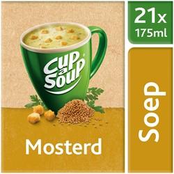 Unox Cup-a-Soup Sachets Mosterd 21  x 175 ml.