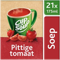 Unox Cup-a-Soup Sachets Pittige tomaat 21  x 175 ml.