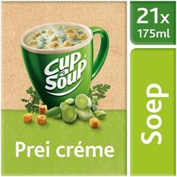 Unox Cup-a-Soup Sachets Prei crème  21  x 175 ml.