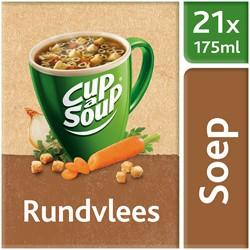 Unox Cup-a-Soup Sachets Rundvlees 21  x 175 ml.
