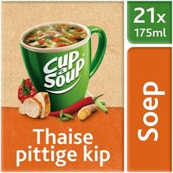 Unox Cup-a-Soup Sachets Thaise pittige kip 21  x 175 ml.