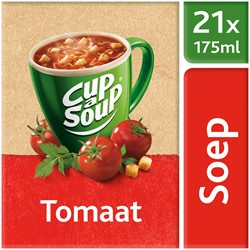 Unox Cup-a-Soup Sachets Tomaat 21  x 175 ml.