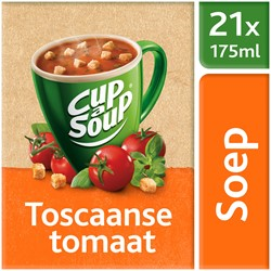 Unox Cup-a-Soup Sachets Toscaanse tomaat 21  x 175 ml.