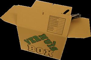 Verhuisdoos Cleverpack 480x320x360mm 5 stuks.