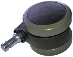 Wiel zacht tbv bureaustoel Rohde Grahl Xenium rond 65mm (NEO).